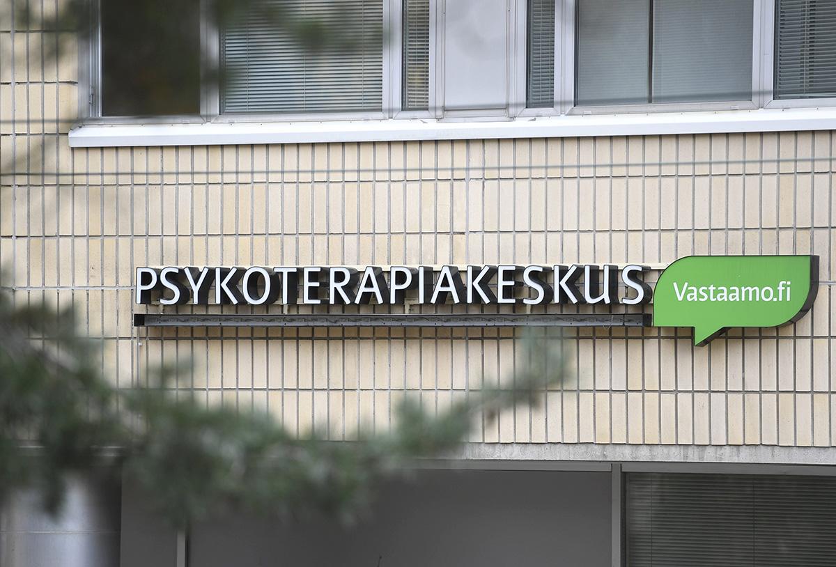 Psykoterapiakeskus Vastaamo. Kuvituskuva.