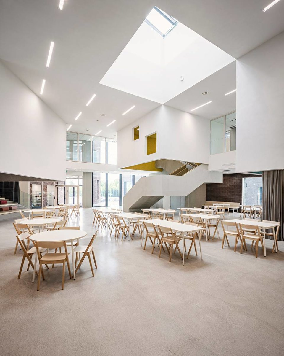 Sipoonlahden koulun laajennus valmistui kesällä 2020.