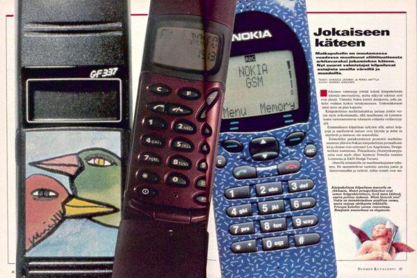 """SK 48/1995 (1.12.1995) Hannele Jäämeri ja Pekka Anttila: """"Jokaiseen käteen""""."""
