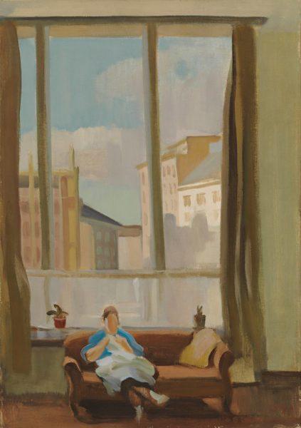 Eero Nelimarkka: Ateljeesta, 1940.