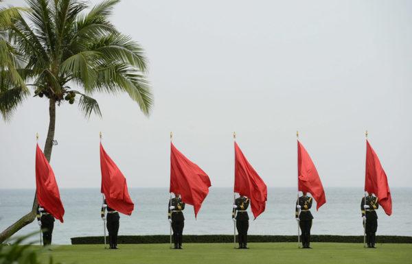 Kiinalaisia sotilaita. Kuvituskuva.