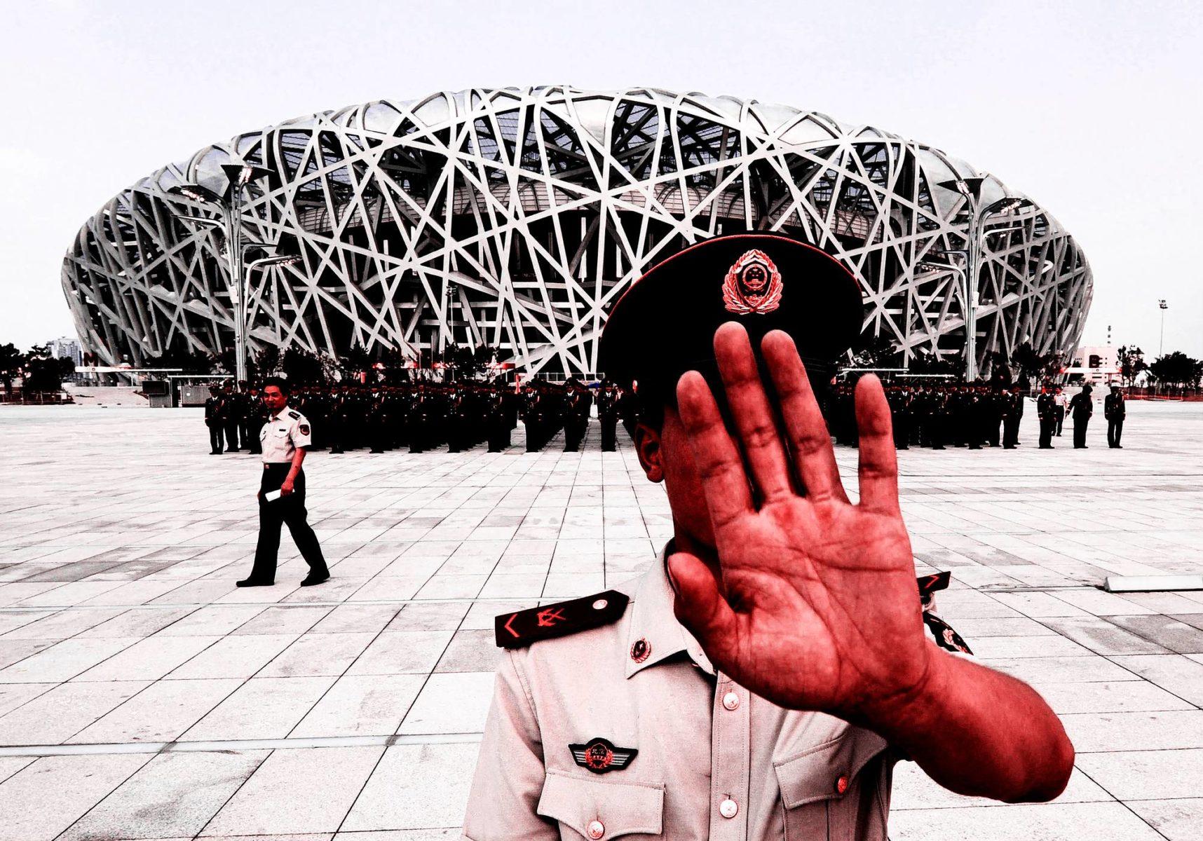 Pekingin olympialaisissa vuonna 2008 turvajärjestelyt oli viety äärimmilleen. Diktatuurit voivat käyttää arvokisojen turvatoimia myös oppositiota vastaan.