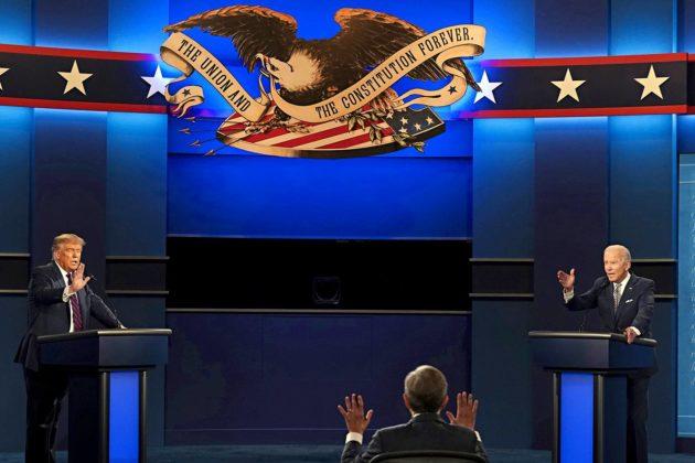 Donald Trump ja Joe Biden väittelivät 29. syyskuuta Clevelandissa.