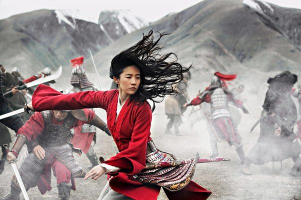 Liu Yifei on uuden Disney-elokuvan Mulan.