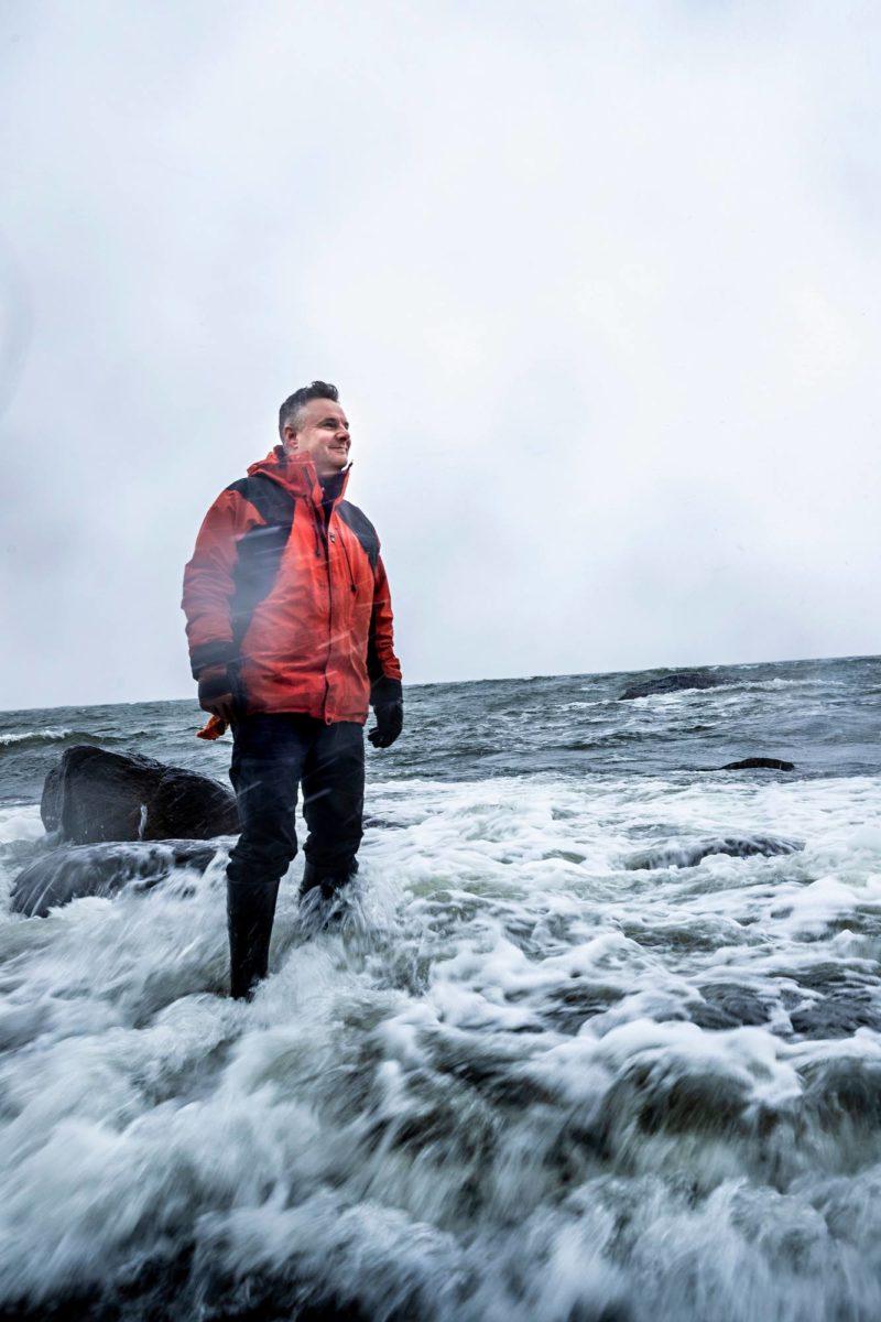 Mika Kalakosken työmatka tutkimusasema Aboalle Etelämantereelle siirtyi koronan takia vuoteen 2021. Hänet kuvattiin Emäsalossa Porvoon edustalla.