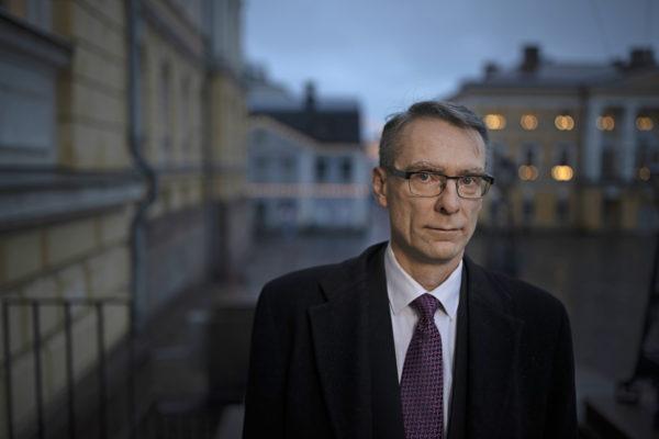 Oikeustieteen tohtori Tuomas Pöysti on toiminut oikeuskanslerina vuodesta 2018.