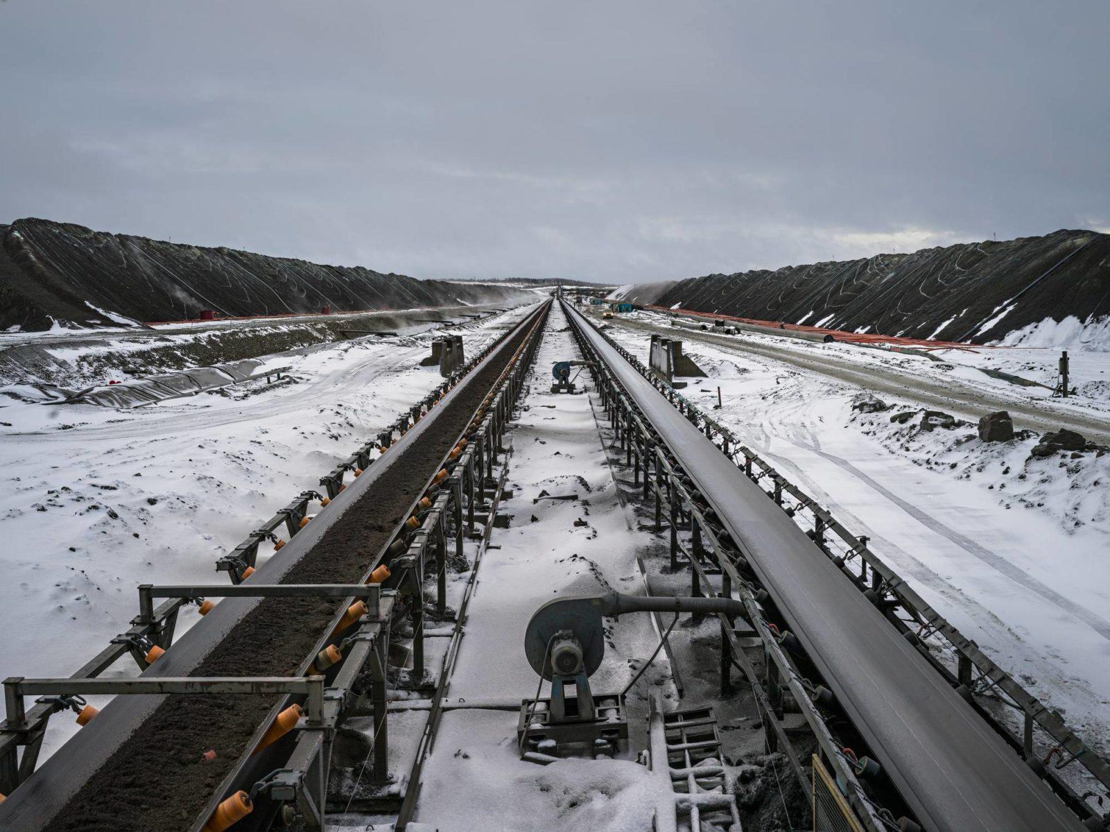Terrafamen kaivoksella Sotkamossa louhitaan malmia, josta saadaan myös akkujen raaka-ainetta.