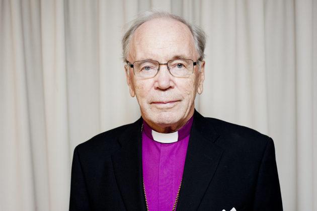 Emeritusarkkipiispa John Vikström.