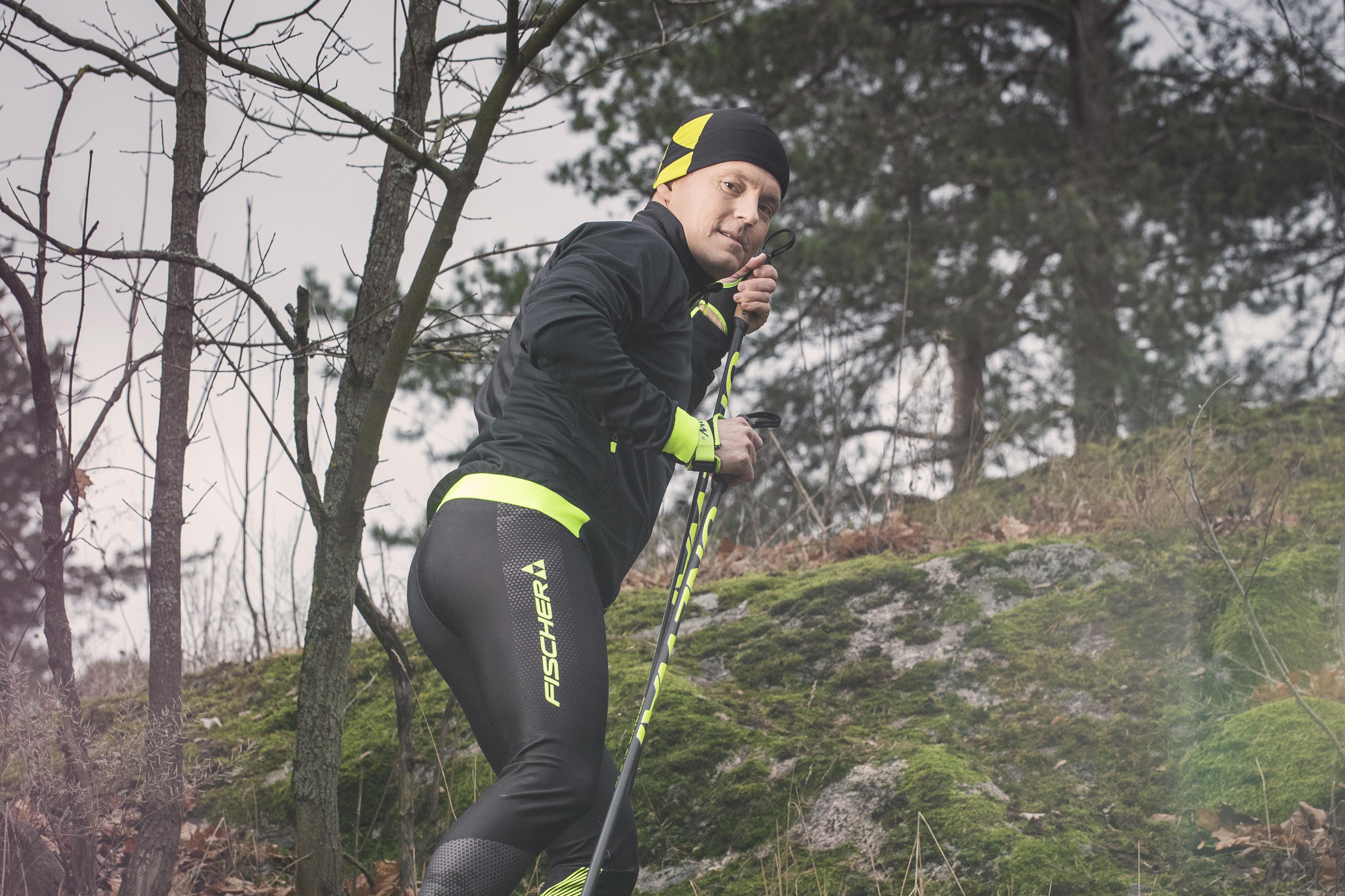 """""""Hiihtouran jälkeen päämääräni on ollut elää tasapainoista elämää. Siihen olen pystynyt"""", Sami Jauhojärvi sanoo."""