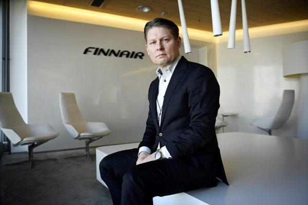 Finnairin toimitusjohtaja Topi Manner.