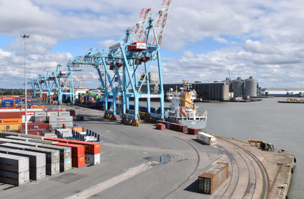 Brexit on kasvattanut liikennemääriä Liverpoolin satamassa.