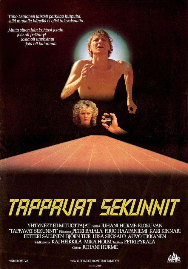 Tappavat sekunnit -jännityselokuva sai ensi-iltansa vuonna 1985.