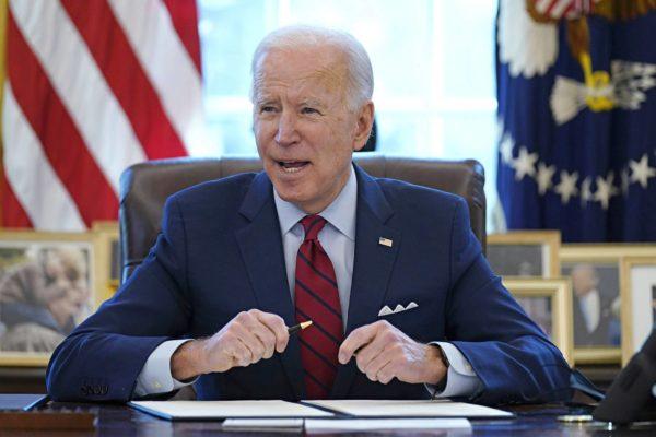 Presidentti Joe Biden on kertonut tekevänsä amerikkalaista keskiluokkaa hyödyttävää politiikkaa.