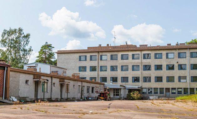 Valkealan entinen mielisairaala siirtyi kiinalaisomistukseen 2007.