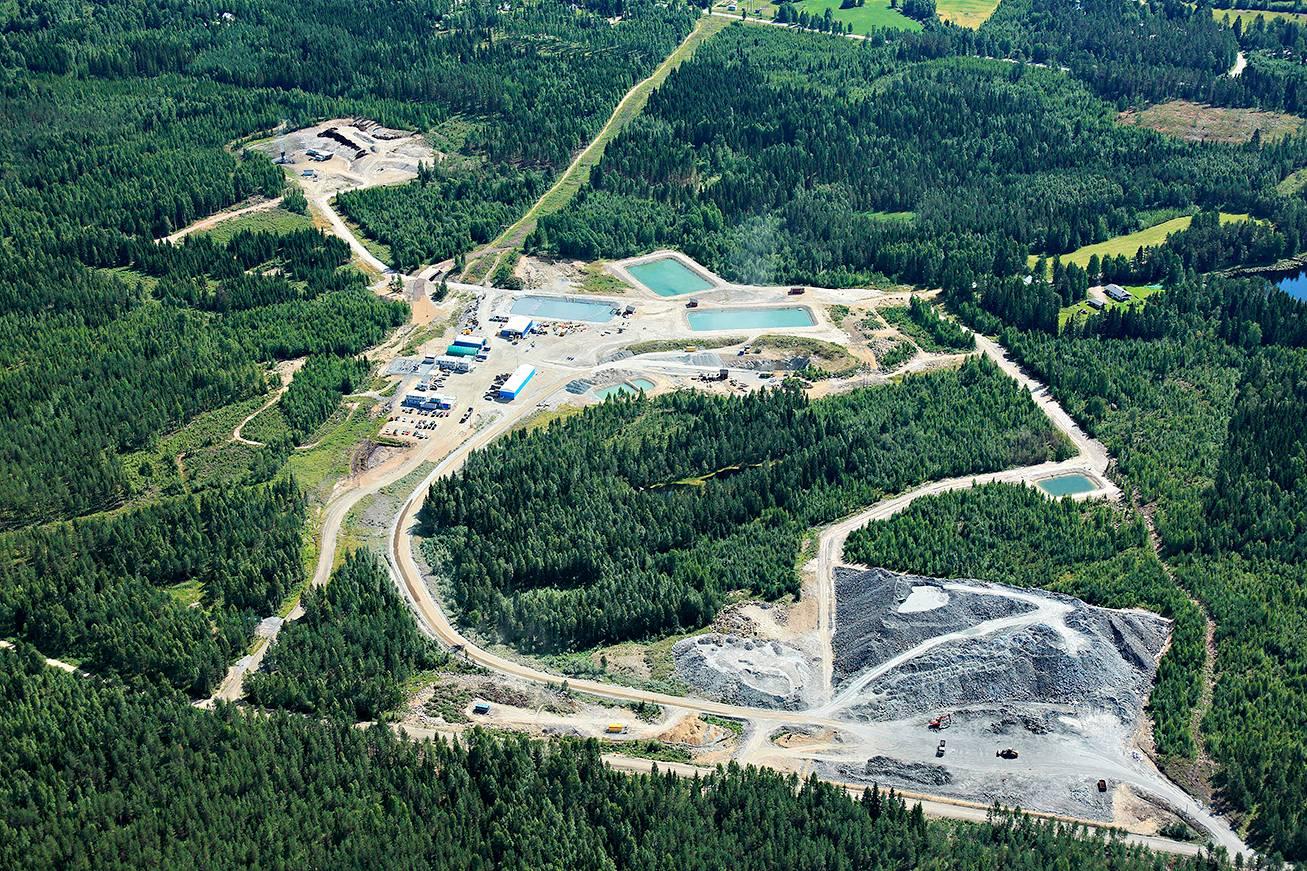 Louhinta Kylylahden kaivoksessa päättyi 15. marraskuuta 2020.