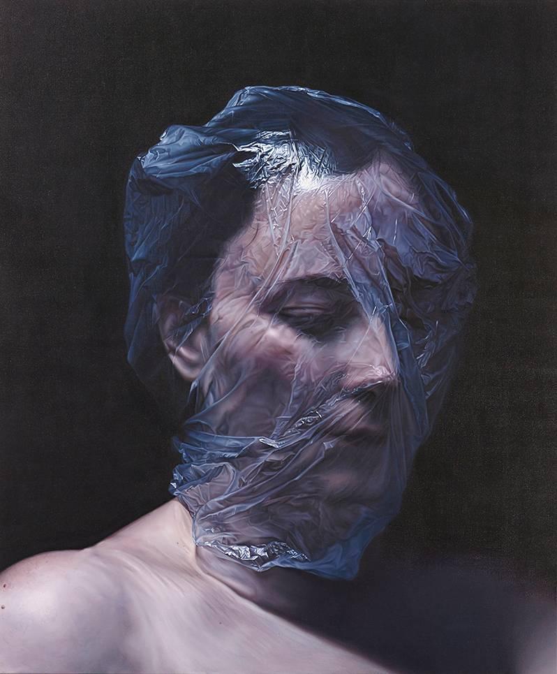 Kari Vehosalon Dorian Grayn muotokuva vuodelta 2013.