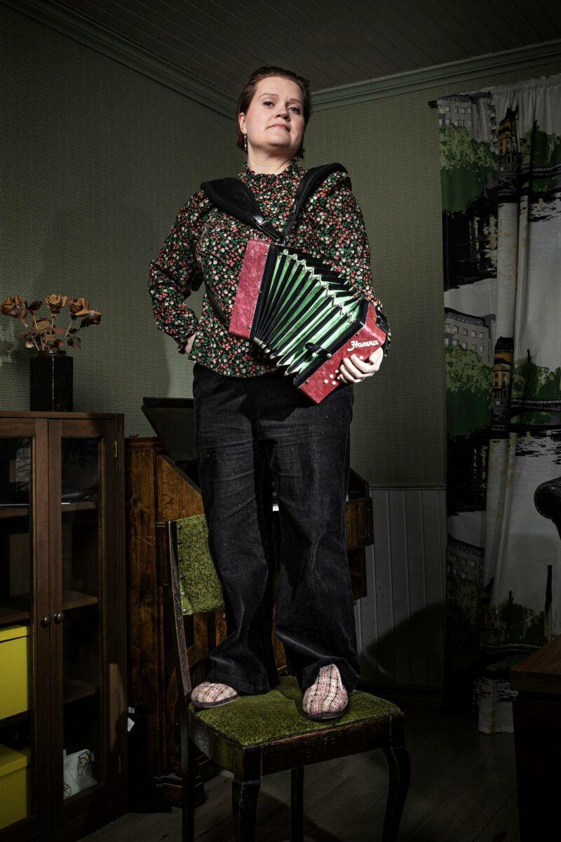 Anne-Mari Kivimäki.