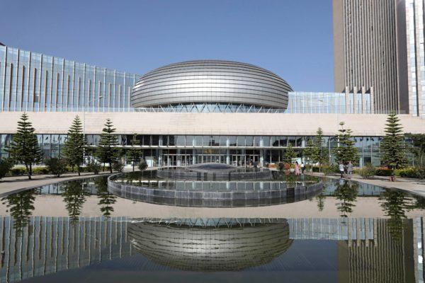 Afrikan unionin komission päämaja Addis Abebassa Etiopiassa on rakennettu kiinalaisten rahalla.
