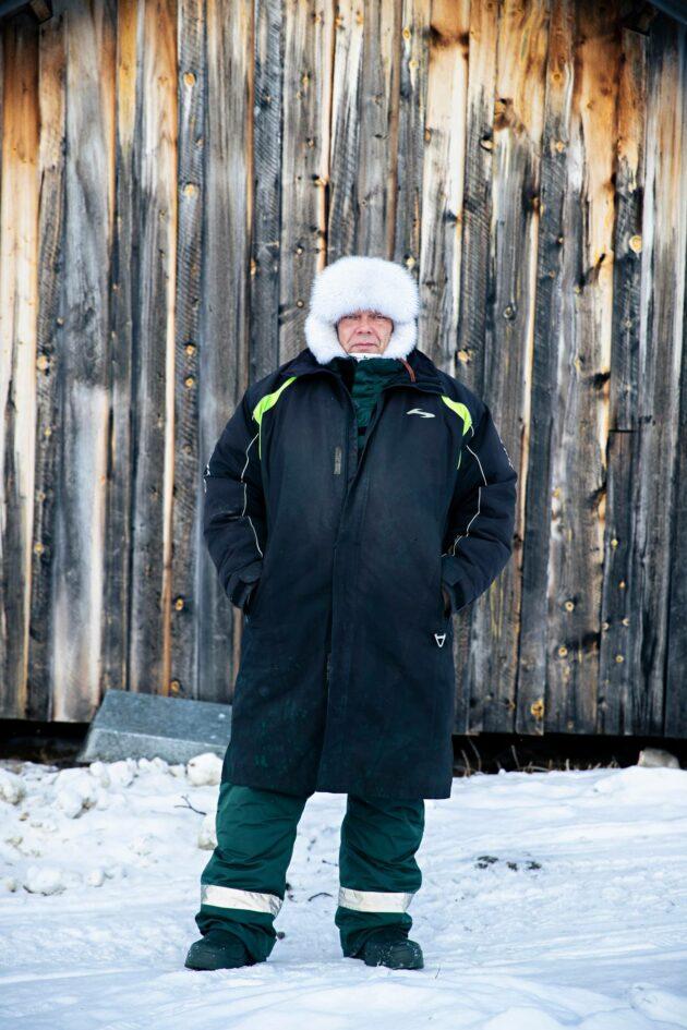 Poromies Leo Aikio on Muddusjärven varaporoisäntä.