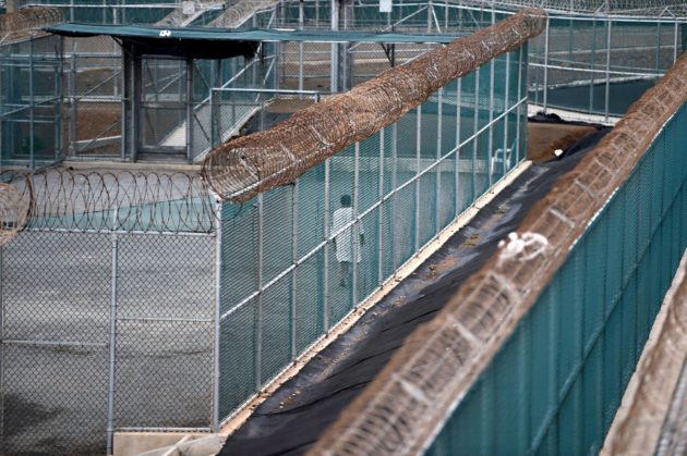 Guantánamon vankileiri keväällä 2014, jolloin sen sulkemista oli yritetty jo vuosia.