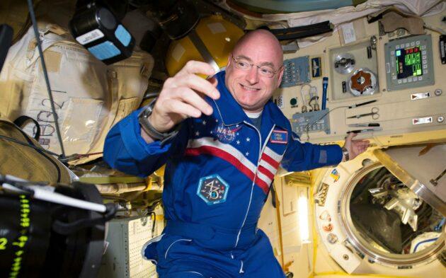 Scott Kelly matkusti avaruusasemalle maaliskuussa 2015.