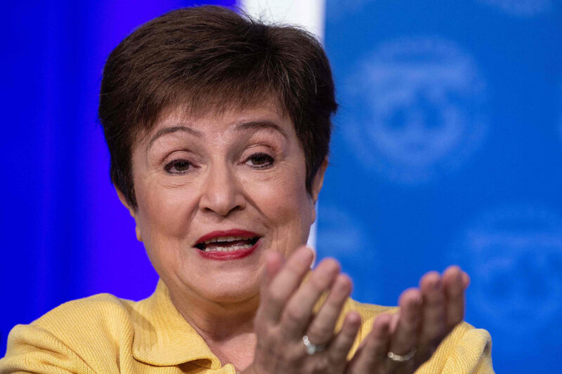 Kansainvälisen valuuttarahaston IMF:n pääjohtaja Kristalina Georgieva.