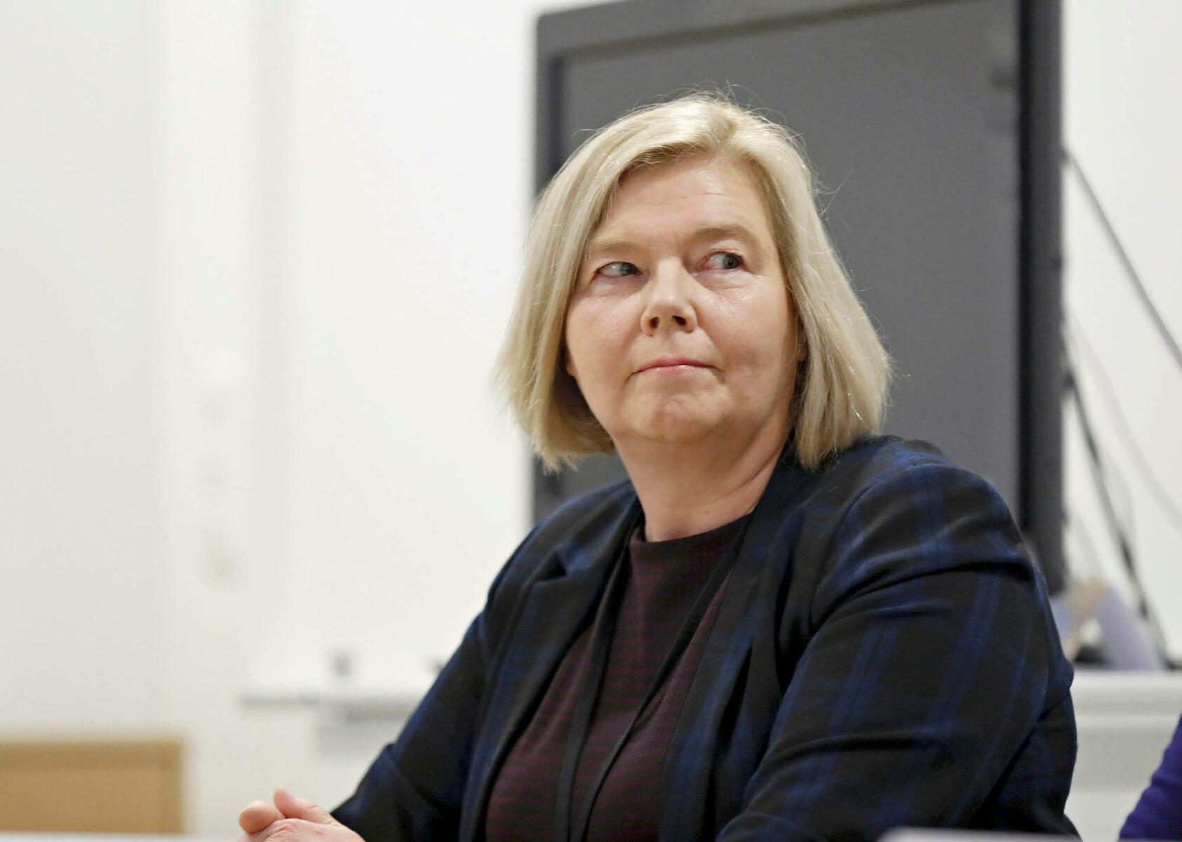 Tampereen yliopiston rehtori Mari Walls.