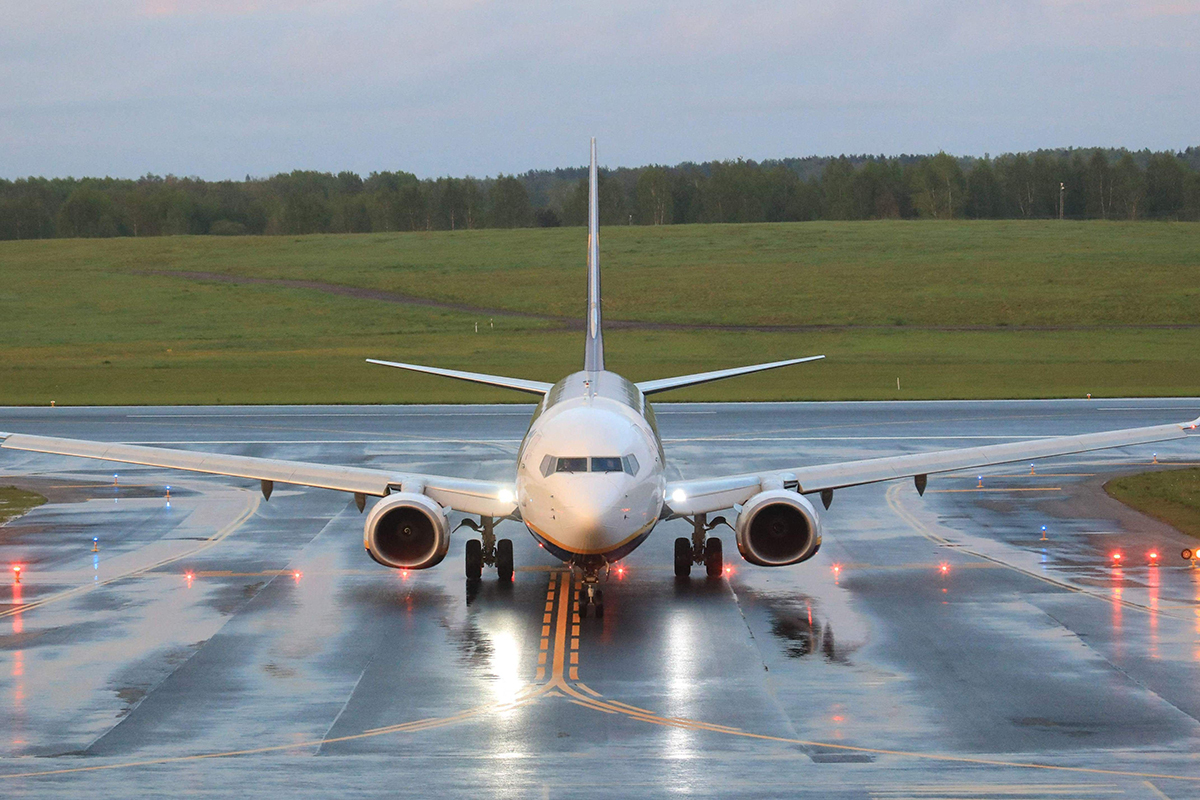 Valko-Venäjän Minskiin pakotettu Ryanairin lento saapui 23. toukokuuta alkuperäiseen määränpäähänsä Liettuan Vilnaan.