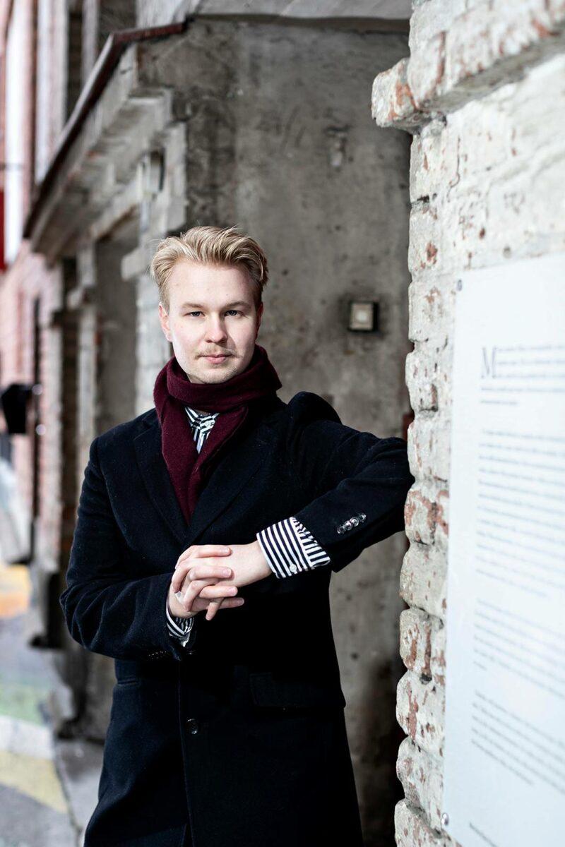 Santeri Anttila opiskelee Tampereen lyseon lukiossa.