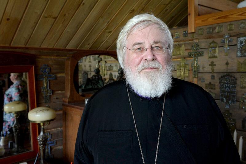 Suomen ortodoksisen kirkon arkkipiispa Leo.