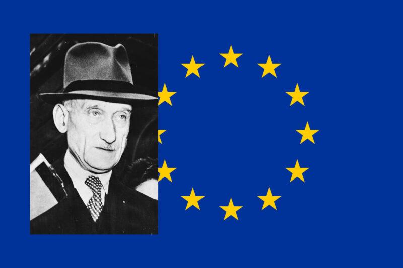 Robert Schumania voi pitää myös yhtenä Euroopan unionin perustajista.