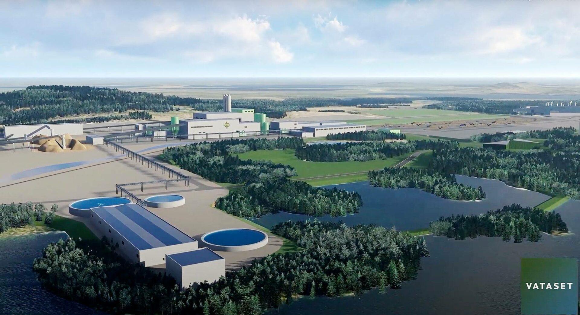 Tehdasta suunnitellaan Kemijärven Patokankaan alueelle lähelle entisen tehtaan paikkaa.