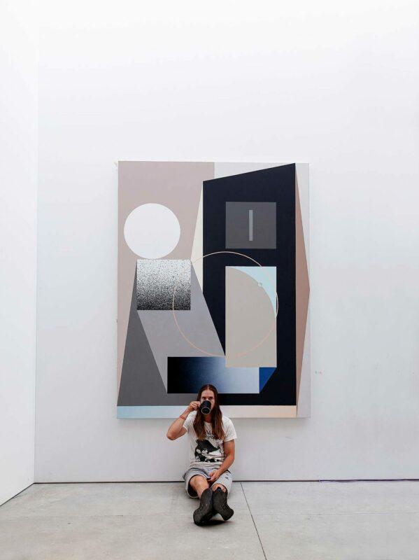Tony Sjömanin työ vuonna 2020 järjestetyssä näyttelyssä.