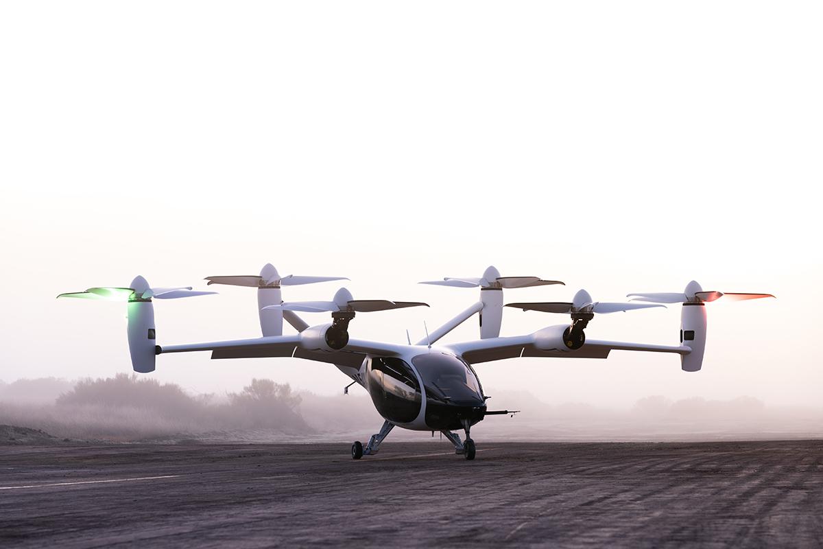 Joby Aviationin kuusiroottorinen sähkölentokone.