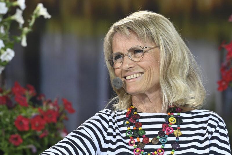 Kristillisten eduskuntaryhmän puheenjohtaja Päivi Räsänen heinäkuussa 2021 Suomi Areenan kristillisdemokraattien puoluepäivässä.