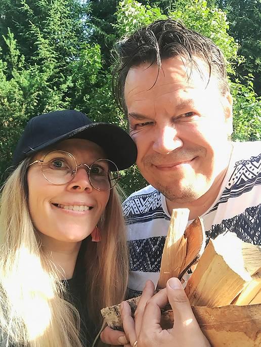 Riikka Majanen ja Seppo Lahtinen ryhtyivät kustantajiksi.