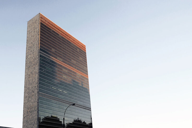 YK:n päärakennus New Yorkissa.