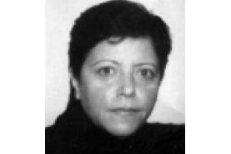 Poliisikuva Maria Licciardista vuodelta 2001.