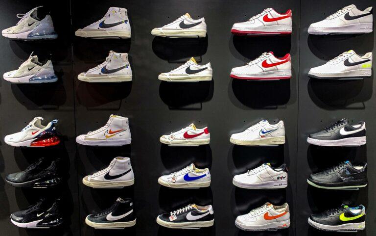 Urheilujalkineita valmistavan amerikkalaisen Niken mainoksia esitetään valeuutissivustoilla.