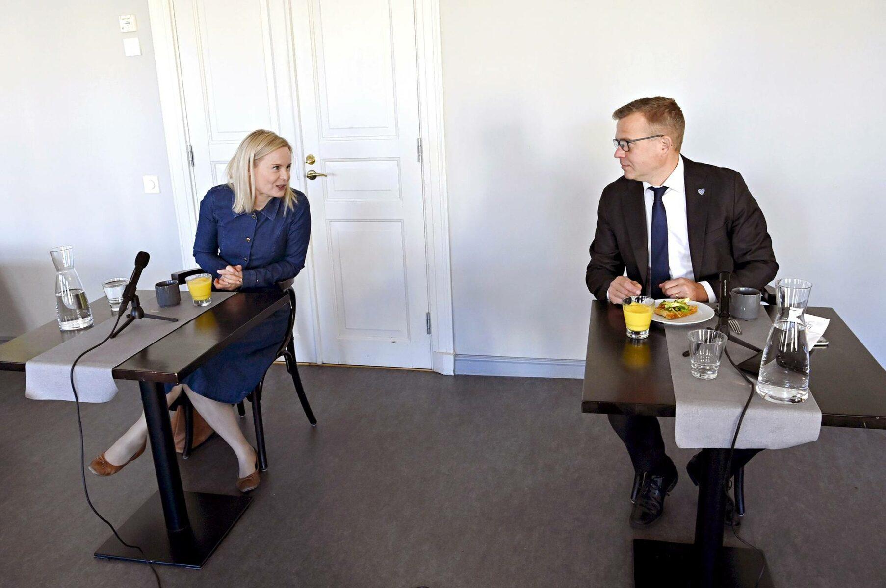 Riikka Purra lähtee aluevaaleihin Länsi-Uudenmaan ja Petteri Orpo Varsinais-Suomen hyvinvointialueella.