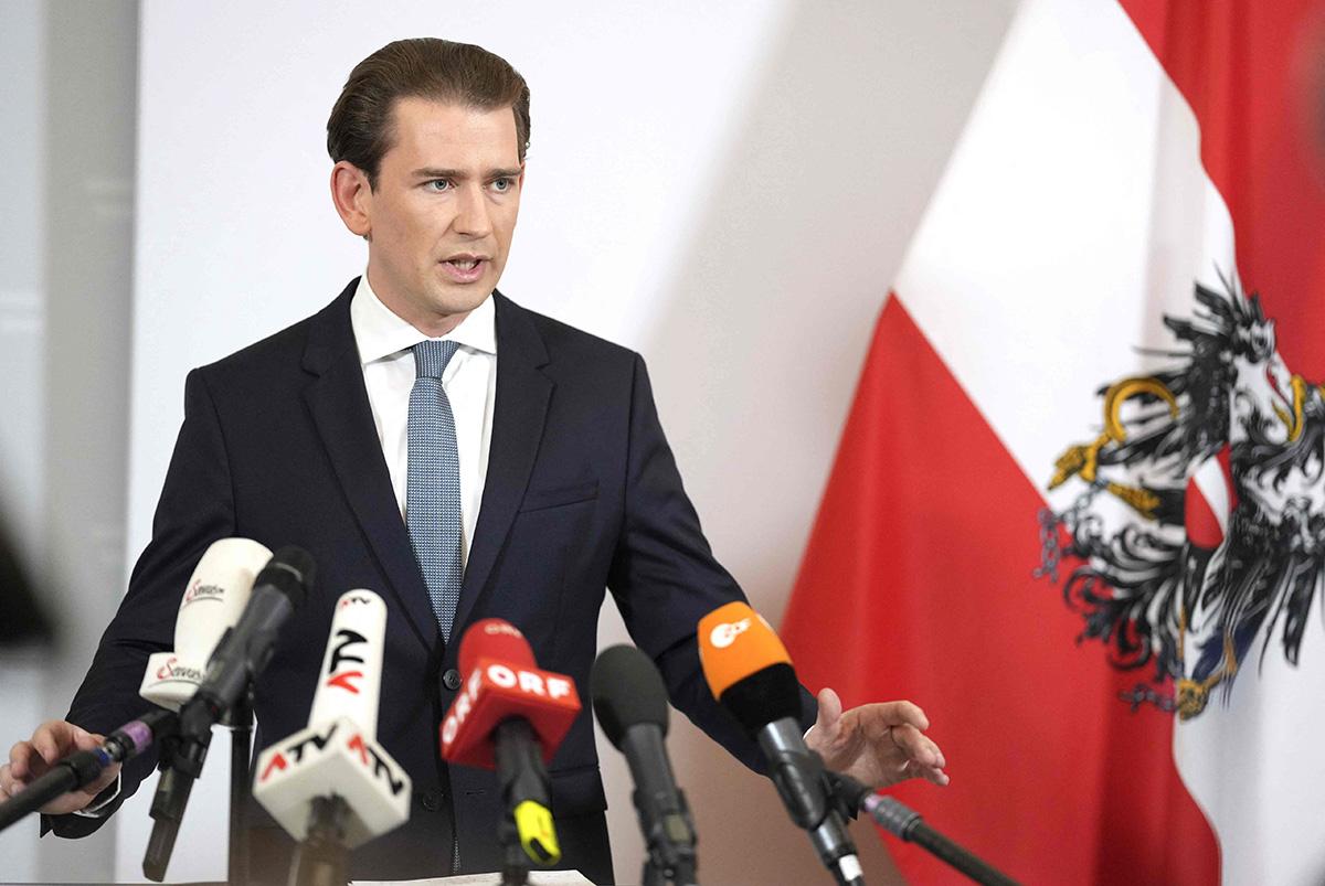 Sebastian Kurz joutui eroamaan Itävallan liittokanslerin paikalta. Politiikkaa hän ei aio jättää.