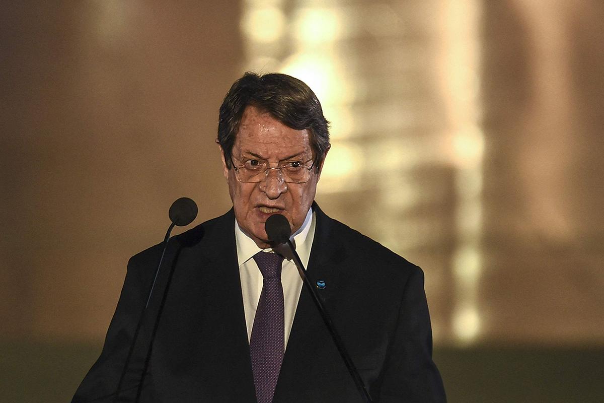 Kyproksen presidentti Nicos Anastasiades.