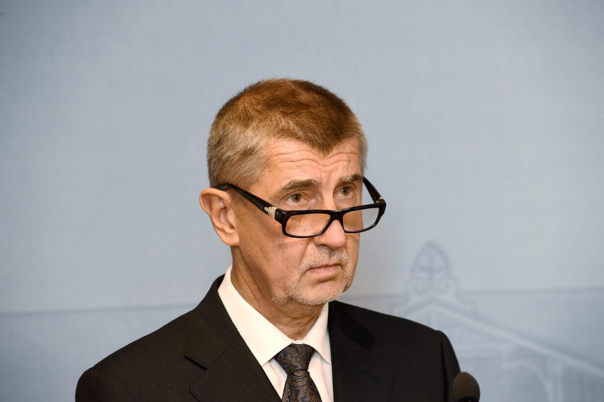Tsekin pääministeri Andrej Babis.