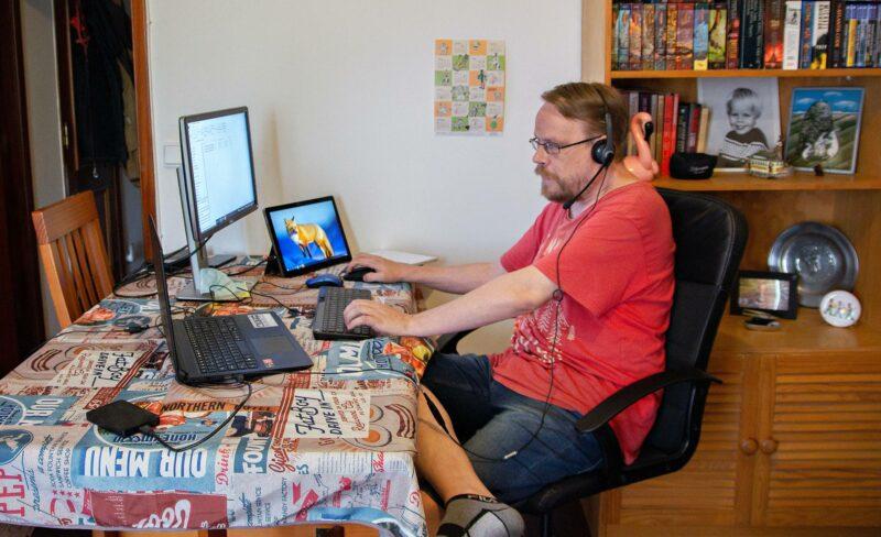 Toni Moisio työskentelee kotonaan Lissabonin Benficassa.