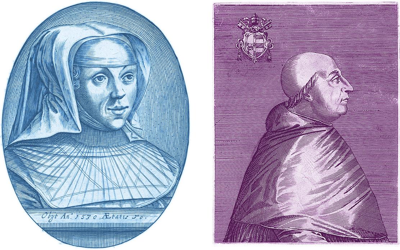 Margareta Itävaltalainen ja paavi Aleksanteri VI olivat renessanssi-ihmisiä.