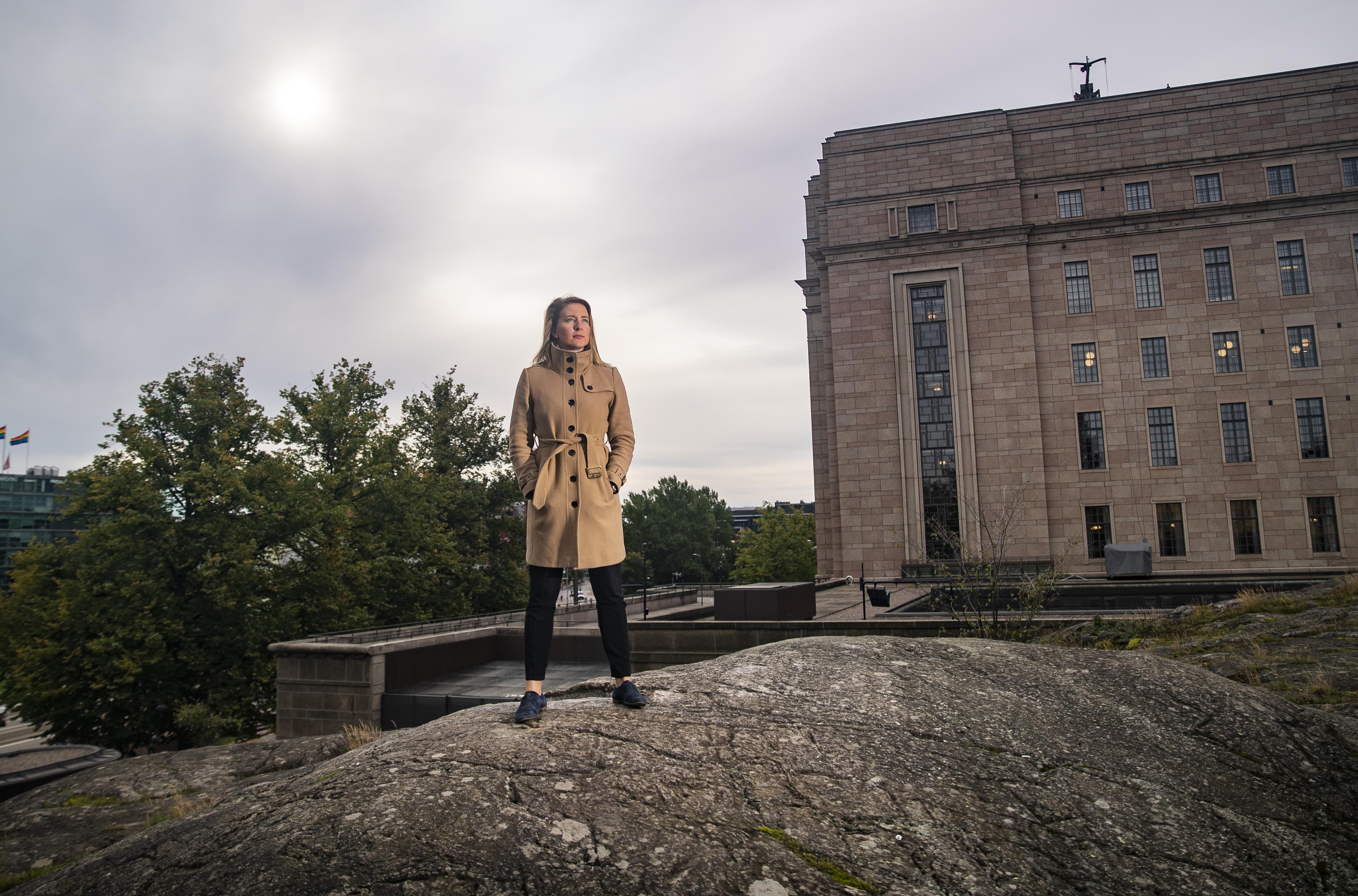 Johanna Vuorelma: Poliittisen kamppailun ulkopuolella oleva alue kaventuu koko...