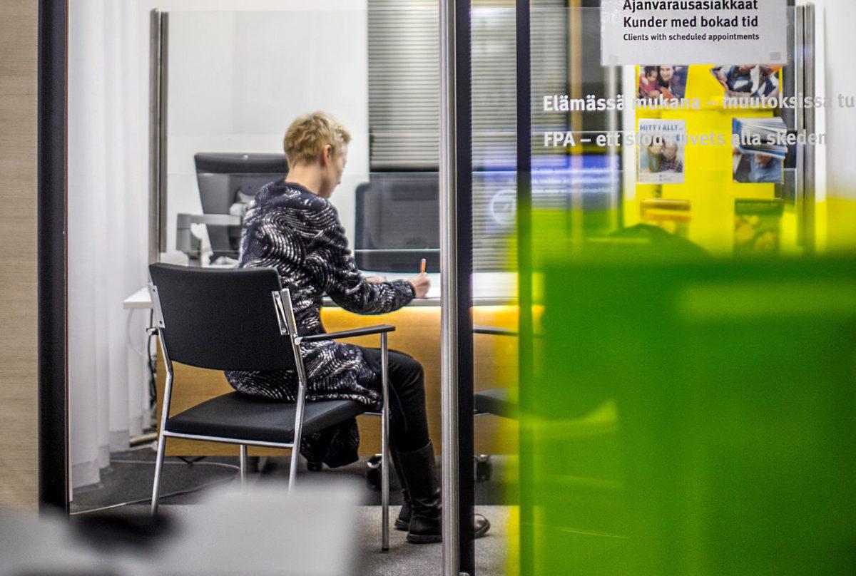 Kelan Kampin toimisto Helsingissä.