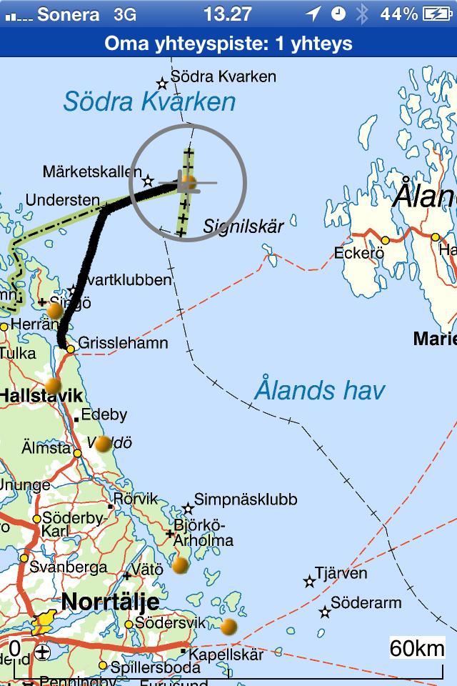 Toimittaja Saaristoseikkailulla Market Nayttaa Laivalta