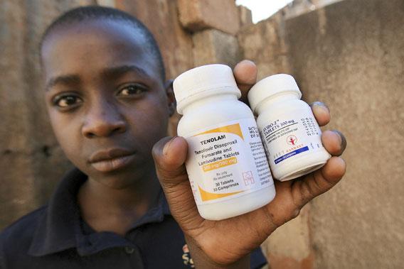 aids-lääkkeitä