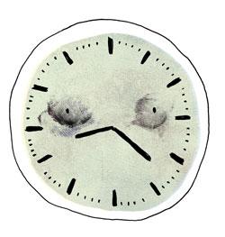 piirruskuva kellotaulusta